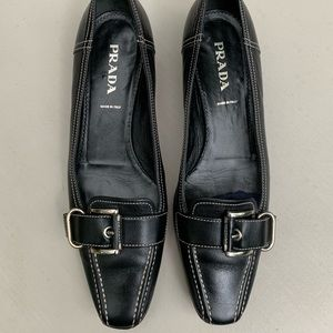 Prada shoes loafers flats. Size 38. US 8.